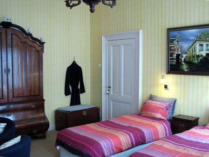 wilhelmina bed and breakfast nijmegen kamer 1 tweepersoons bed