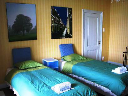 wilhelmina bed and breakfast nijmegen kamer 2 boxspring