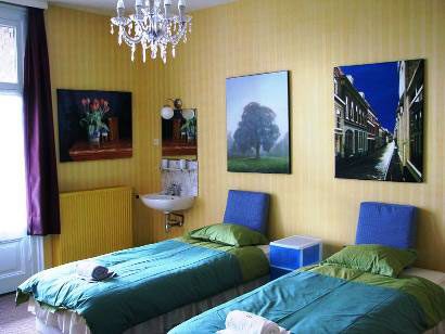 wilhelmina bed and breakfast nijmegen kamer 2 wastafel