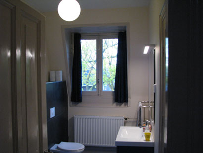 wilhelmina bed and breakfast nijmegen kamer 3 toilet